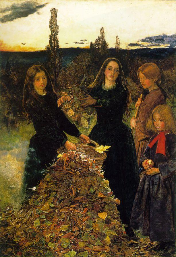 Autumn Leaves — John Everett Milliais