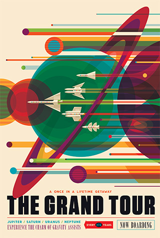 The Grand Tour from Visions of the Future at NASA. You can get a free poster here