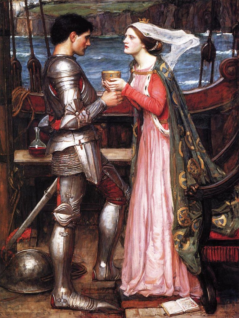 Tristan and Isolde, John William Waterhouse