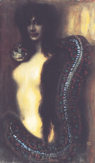 Lilith by Franz Stuck