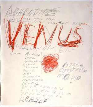 Venus in Aries: Cy Twombly