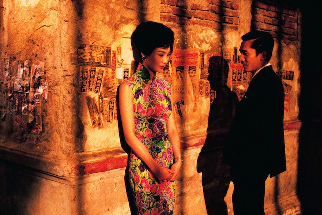 In The Mood for Love. There is never a bad time to watch this beautiful, romantic movie again, but there are peak times — and this is one.