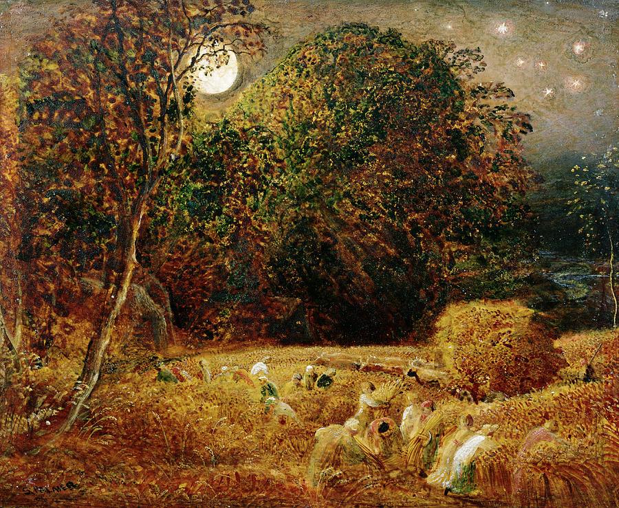 Harvest Moon — Samuel Palmer