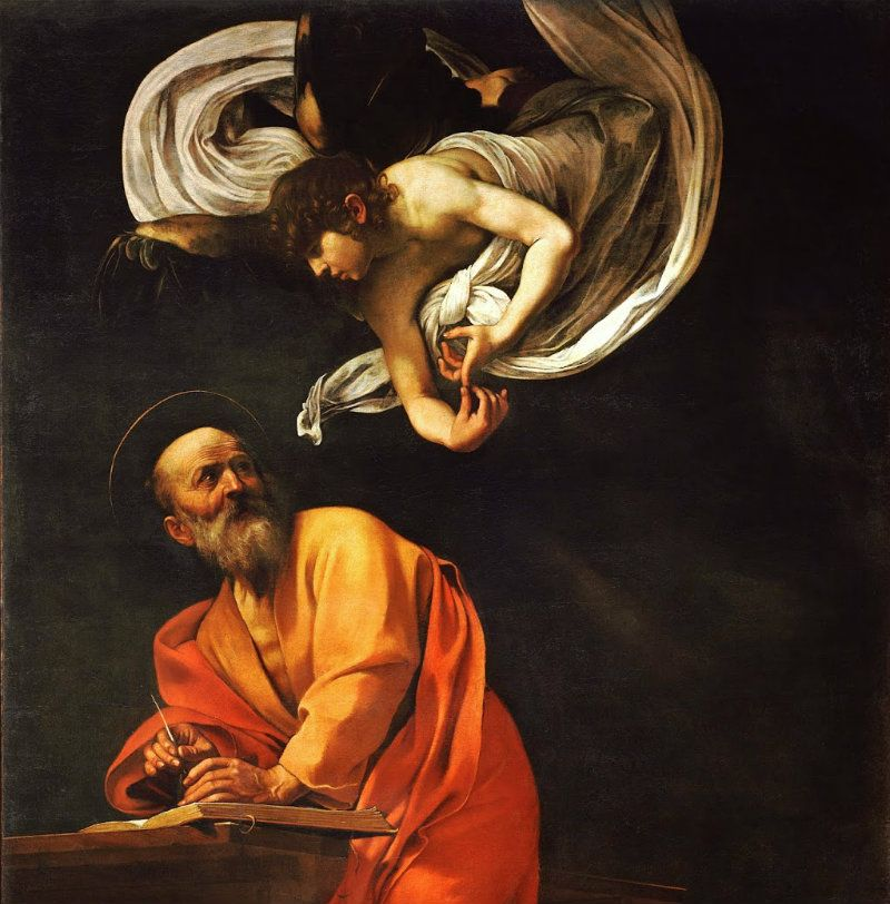 The Inspiration of St Matthew