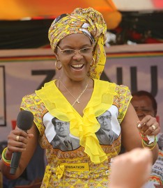 """Gucci Grace"" Mugabe whose passion for luxury (Leo Sun, Taurus Moon!) earned her this nickname, also has Mars at 13° Libra."