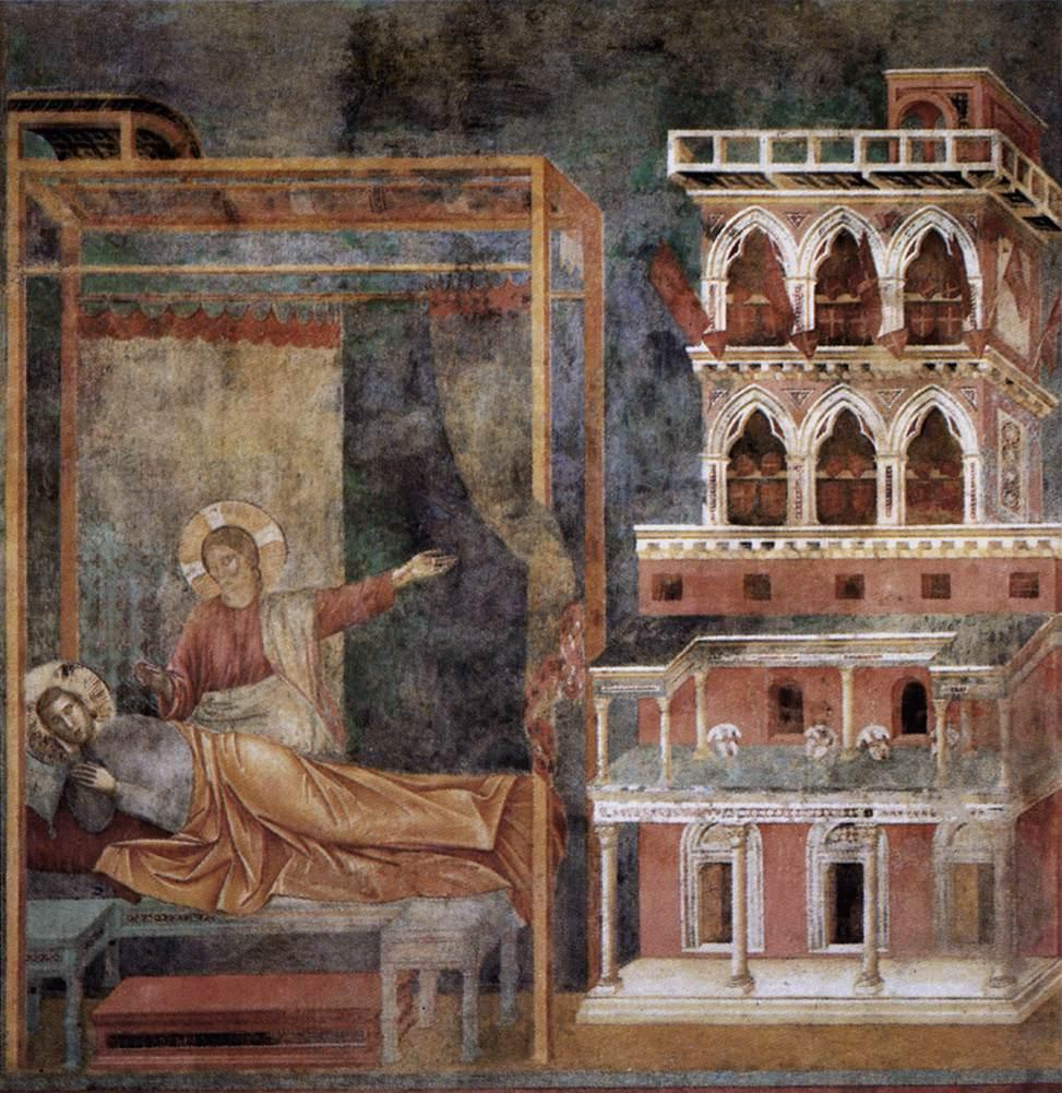 Dream of the Palace — Giotto