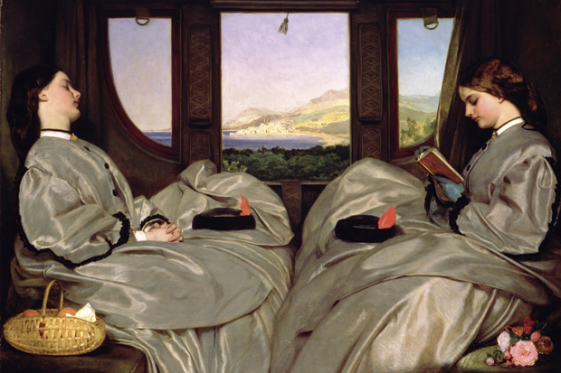 The Travelling Companions, Leopold Augustus Egg, 1862