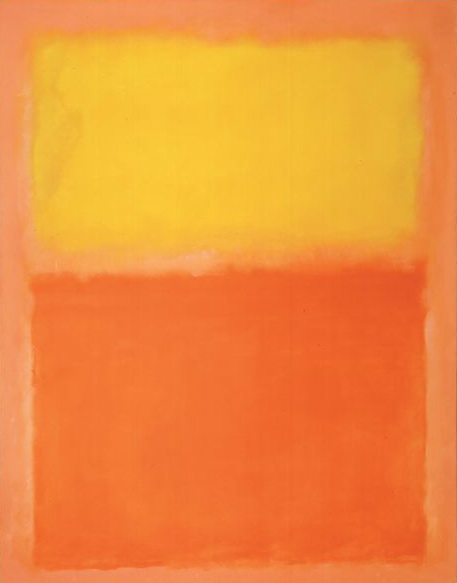 Orange and Yellow, Mark Rothko