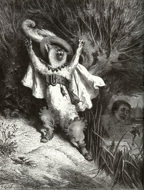 Puss in Boots illustrated by Gustav Doré
