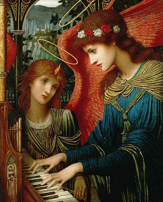 St Cecilia -- John Melhuish Strudwick