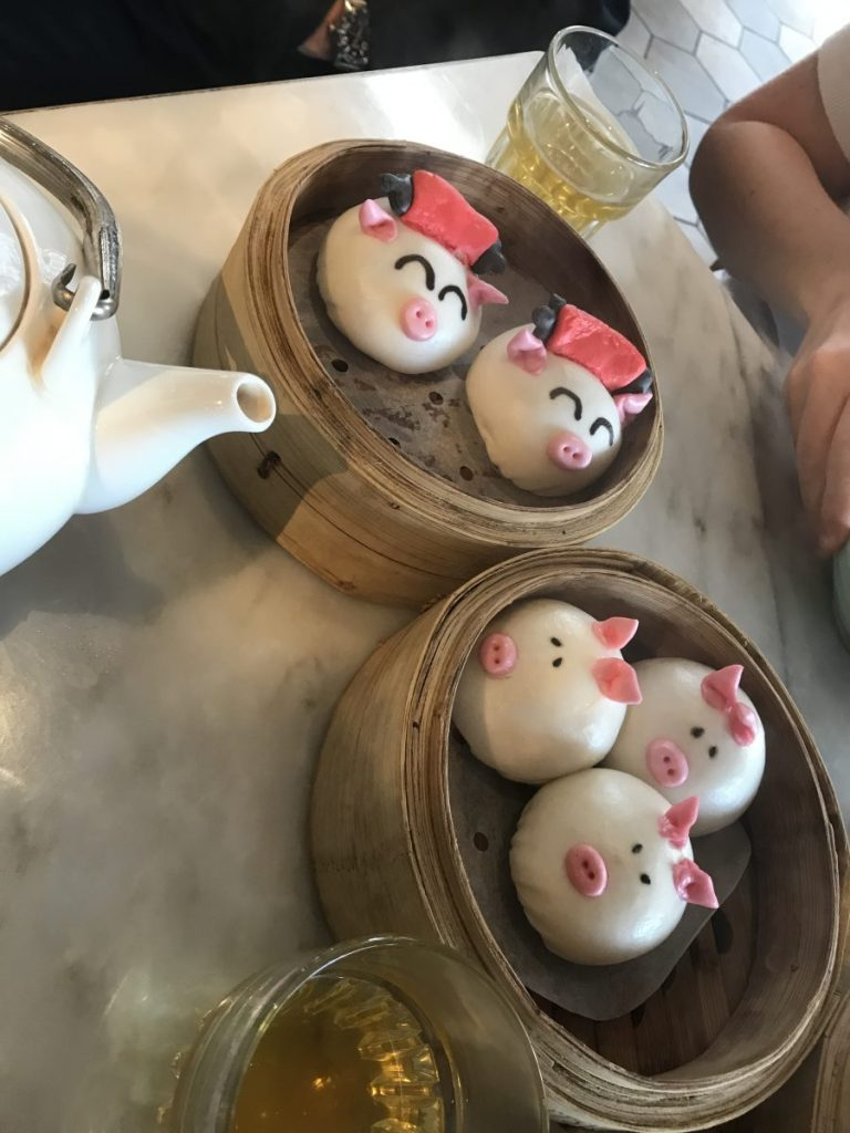 New Year steamed buns