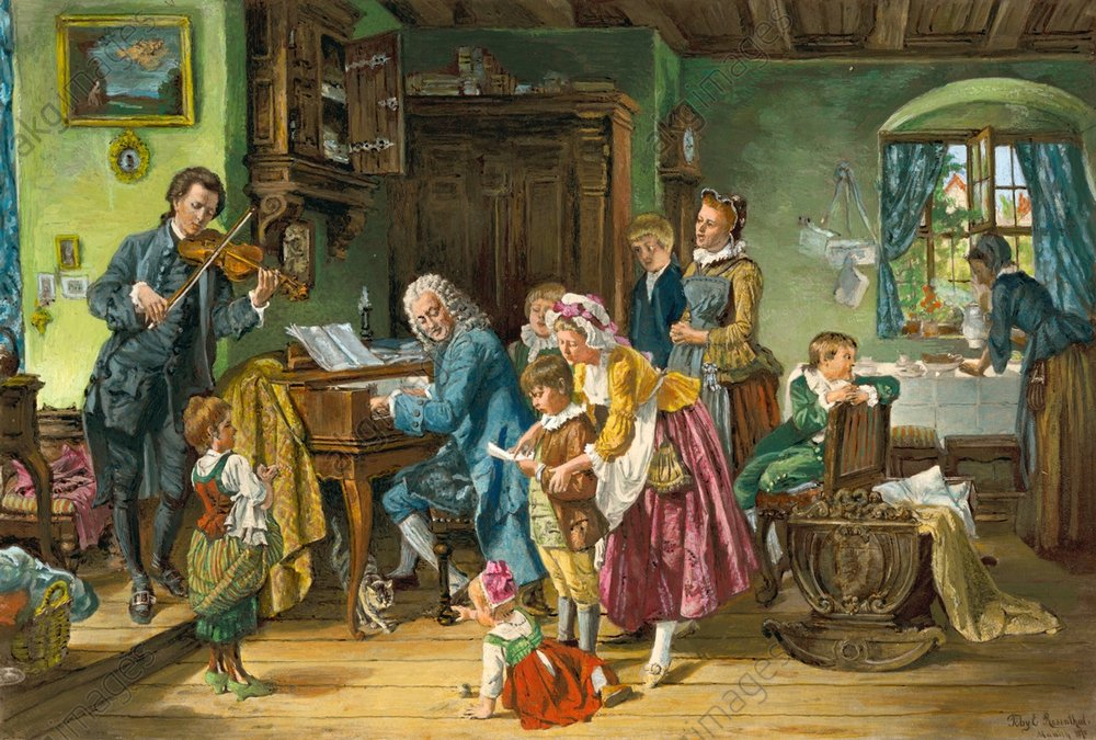 Bach: The husband, the father, and the family man