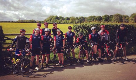 An early summer club run in the Cotswolds