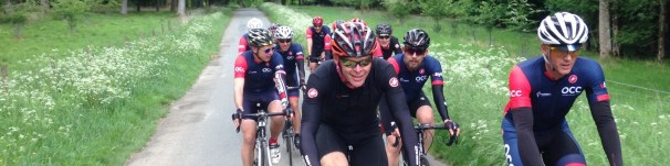 Mark Howard leading from the front.