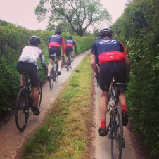 Sometimes the line between 'road cycling' and 'offf-road' can becomes a little blurred.