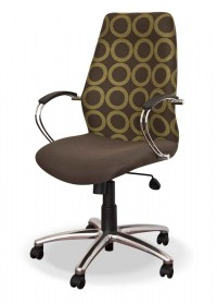DB 019 visitor chair - black PU leather. - Oxford Office ...