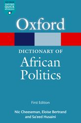 dictionary of african politics