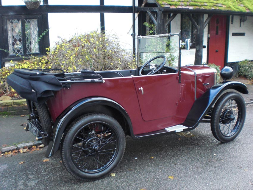 1931 Austin Seven Open Tourer Restoration