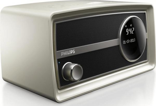original radio mini by philips a retro styled alarm clock radio oxgadgets. Black Bedroom Furniture Sets. Home Design Ideas