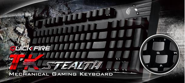 QuickFire Stealth Keyboard