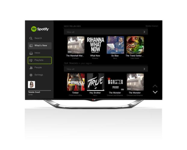 LG Smart TV_ Spotify Service_Updated