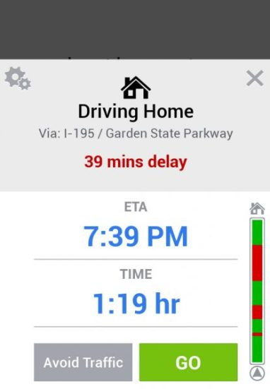 commute driving home copilot