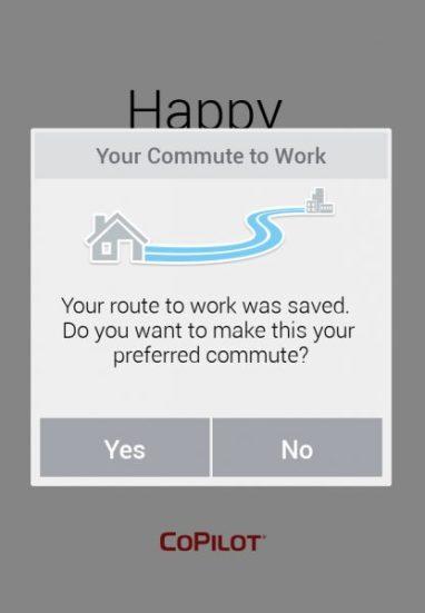 copilot commute
