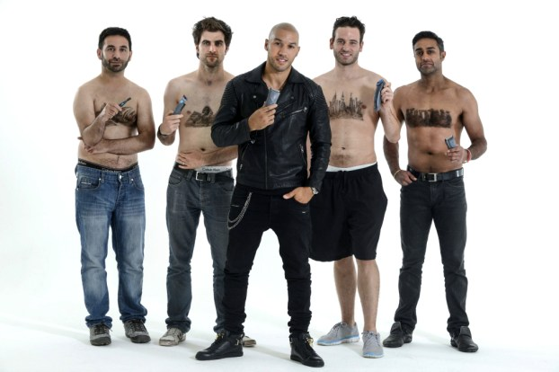 Manscapes: Male Body Hair Art Trend Leads to Celebrity Stylist C