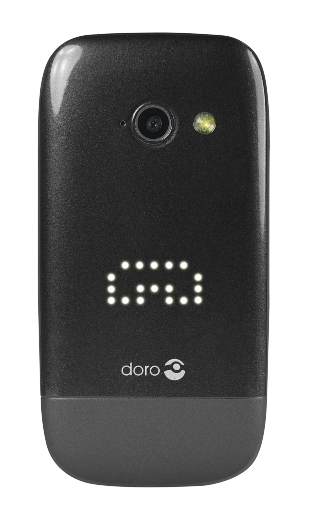 Doro PhoneEasy 632 Black Front