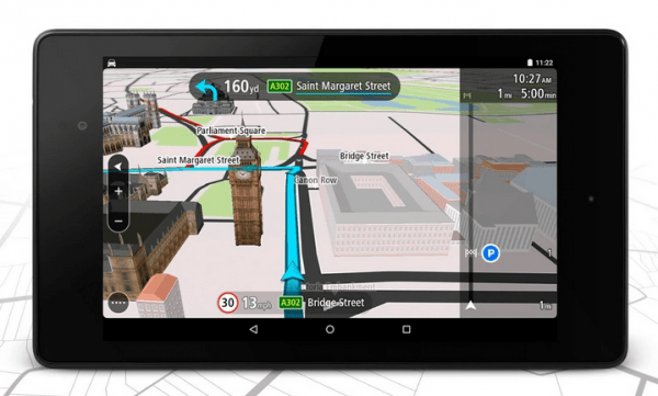 Review: TomTom Go App for Android - OxGadgets