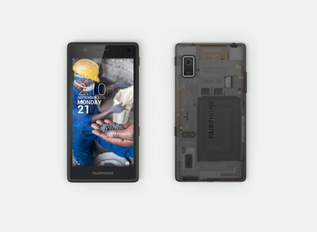 Fairphone 2 assembled