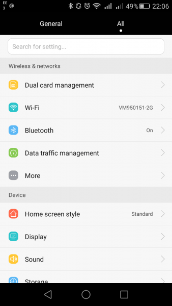 How to: Enabling data limits on your Huawei or Honor
