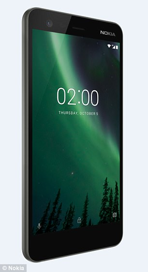 nokia 2 long lasting battery smartphone android oreo ready