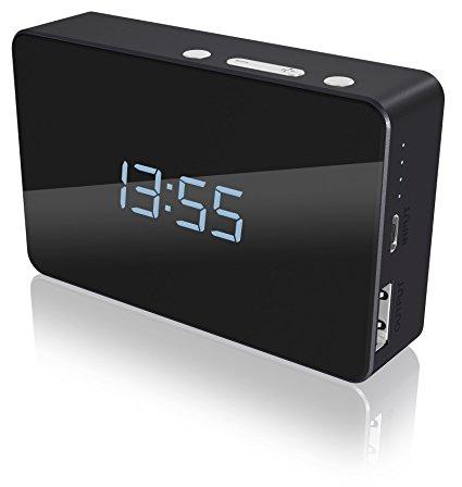 ICY BOX multi function alarm clock power bank calendar review