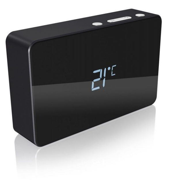 ICY BOX multi function alarm clock power bank calendar review