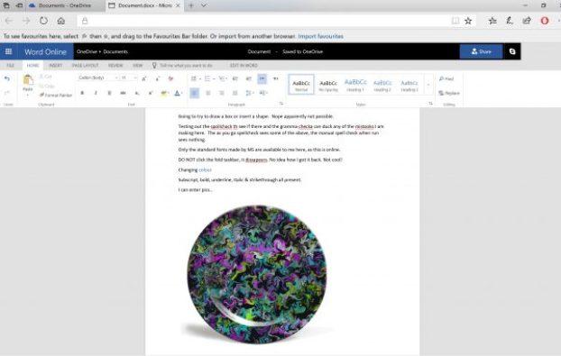 Office Online free word alternatives desktop screenshot edge browser document