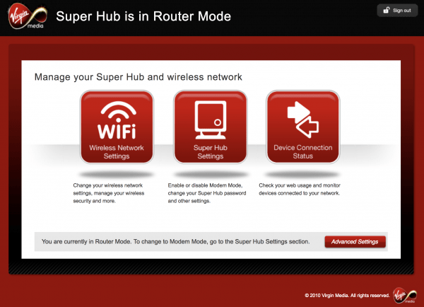 Virgin Media - Enable VPN through your router - OxGadgets