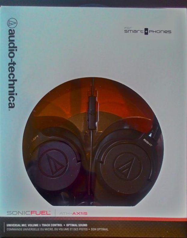 Audio-Technica SonicFuel, Audio-Technica, ATH-AX1iS, SonicFuel, headphones, over ear, audio, sound, music, portable, travelling, compact, review, smartphone, in the box,