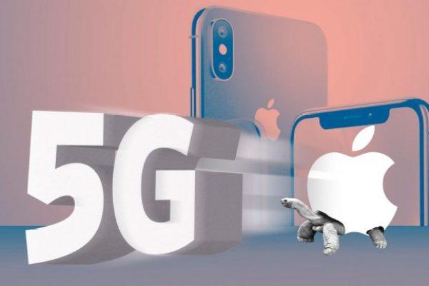 Apple logo 5G