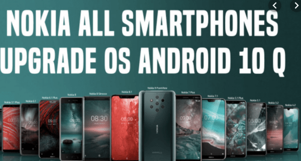 Android 10 making debut with the Nokia Smartphone Portfolio