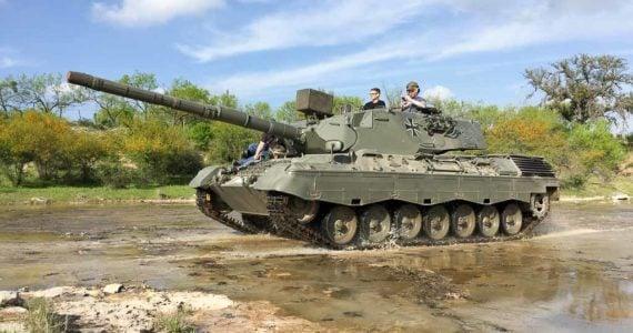 drive a sherman tank