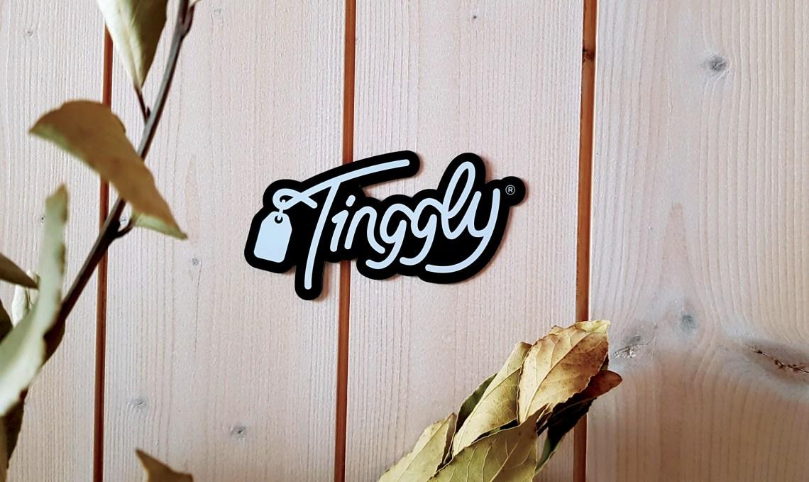 Tinggly reklaminis suvenyras