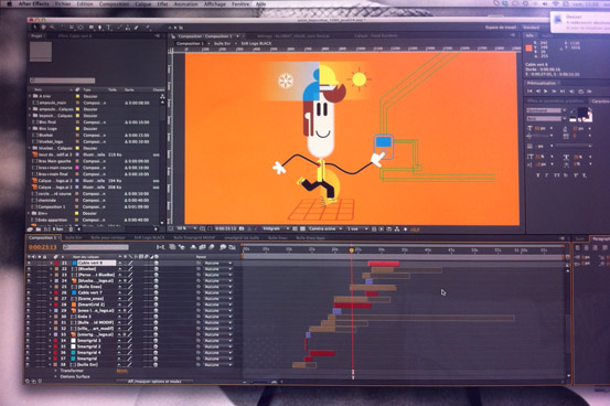 Animation personnage | Animer sur After Effects