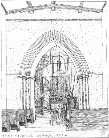 St. Michael's Church, Cumnor, Oxon, Bell Ringers.