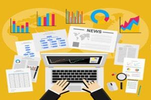 Image rédaction professionnelle de blogs et newsletters