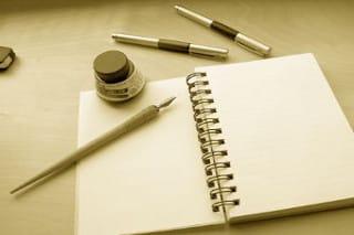 Image Coach littéraire carnet d'écriture