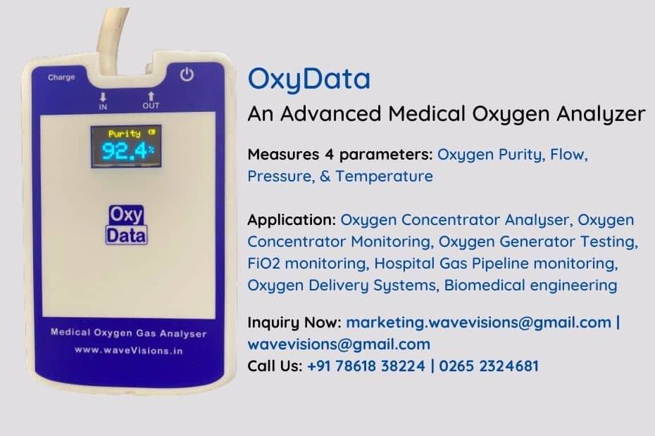 20 Reasons To Choose OxyData – Advanced Oxygen Analyser Article 1
