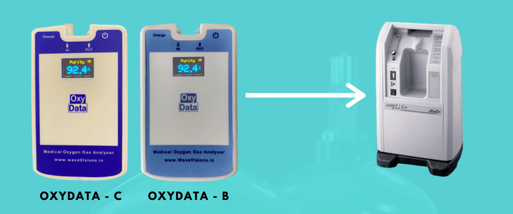 OxyData for Oxygen Concentrator