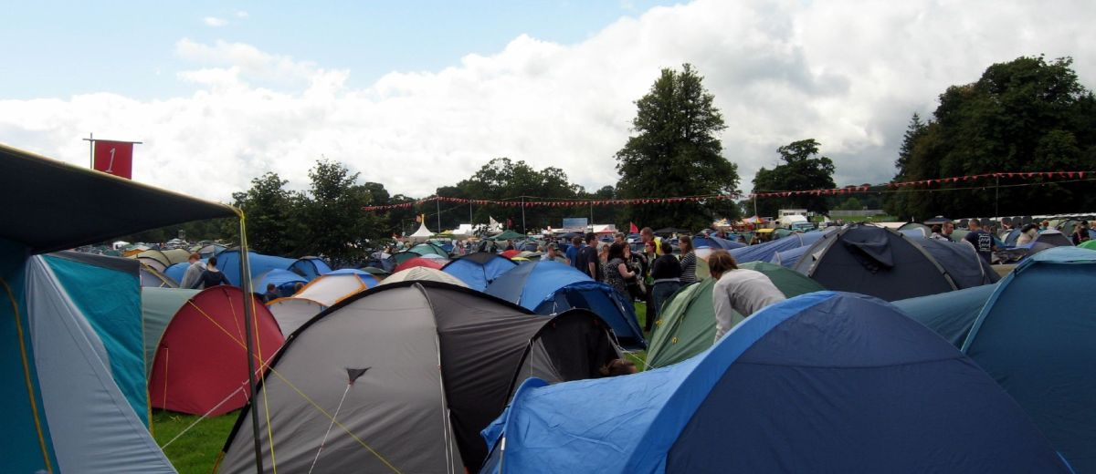 Tents Left Behind At Electric Picnic Will Be Donated To Students
