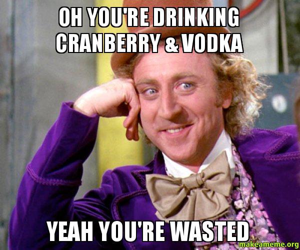 vodka cran